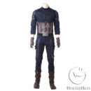 Marvel Comics Avengers Infinity War Captain America Steven  Rogers Cosplay Costume cos11842 (10)