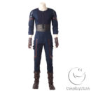 Marvel Comics Avengers Infinity War Captain America Steven  Rogers Cosplay Costume cos11842 (11)
