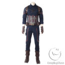 Marvel Comics Avengers Infinity War Captain America Steven  Rogers Cosplay Costume cos11842 (4)