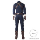 Marvel Comics Avengers Infinity War Captain America Steven  Rogers Cosplay Costume cos11842 (6)