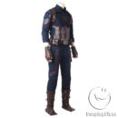 Marvel Comics Avengers Infinity War Captain America Steven  Rogers Cosplay Costume cos11842 (7)