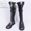 Overwatch OW Reaper Gabriel Reyes Cosplay Boots cw13119 (3)