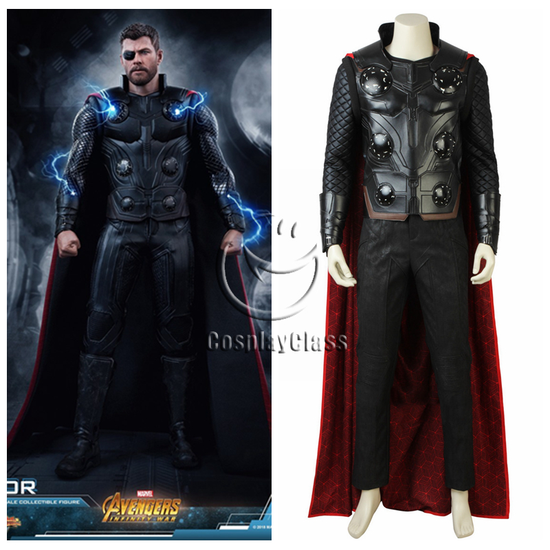 Marvel Avengers: Infinity War Thor Odinson Cosplay Costume ...
