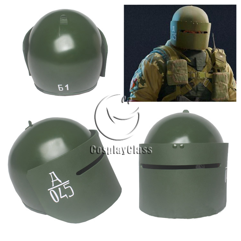 Tom Clancy's Rainbow Six Siege Tachanka Helmet Cosplay Prop