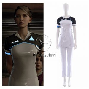 Detroit Become Human Kara Cosplay Costume