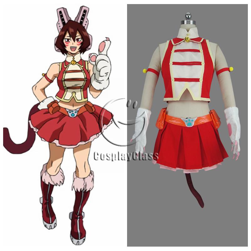 My Hero Academia Season 3 Mandalay Pussycats Cosplay Costume