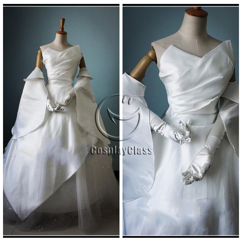 Details about  /Final Fantasy XV Lunafreya Nox Fleuret Cosplay Costume Dress Uniform Luna Gown