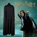 Harry Potter Slytherin Severus Snape Cosplay Costume cos12205 (5)
