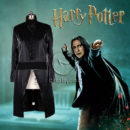 Harry Potter Slytherin Severus Snape Cosplay Costume cos12205 (7)