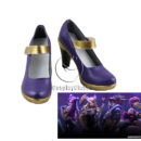 League of Legends LOL KDA Ahri the KDA Nine-Tailed Fox Cosplay Shoes cw13752 (1)