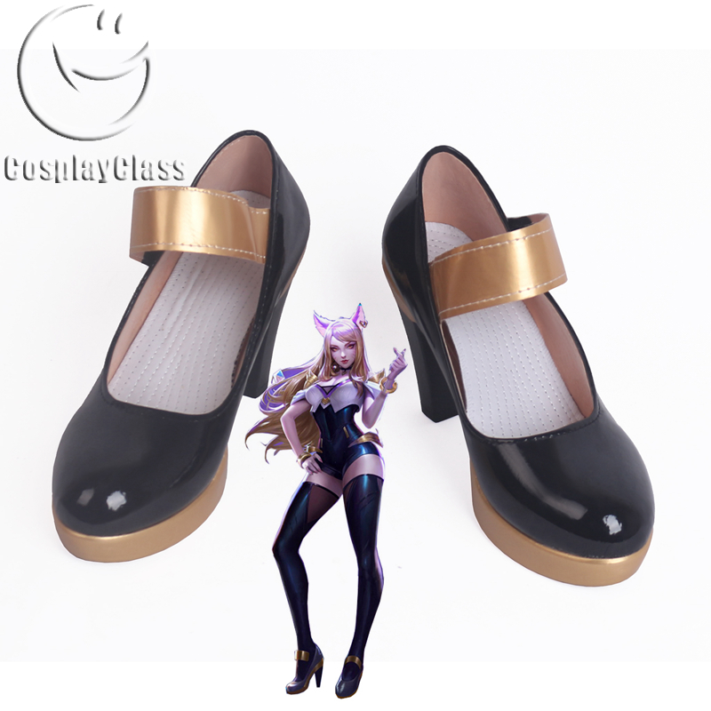League of Legends LOL K/DA Ahri the Nine-Tailed Fox KDA Cosplay Shoes