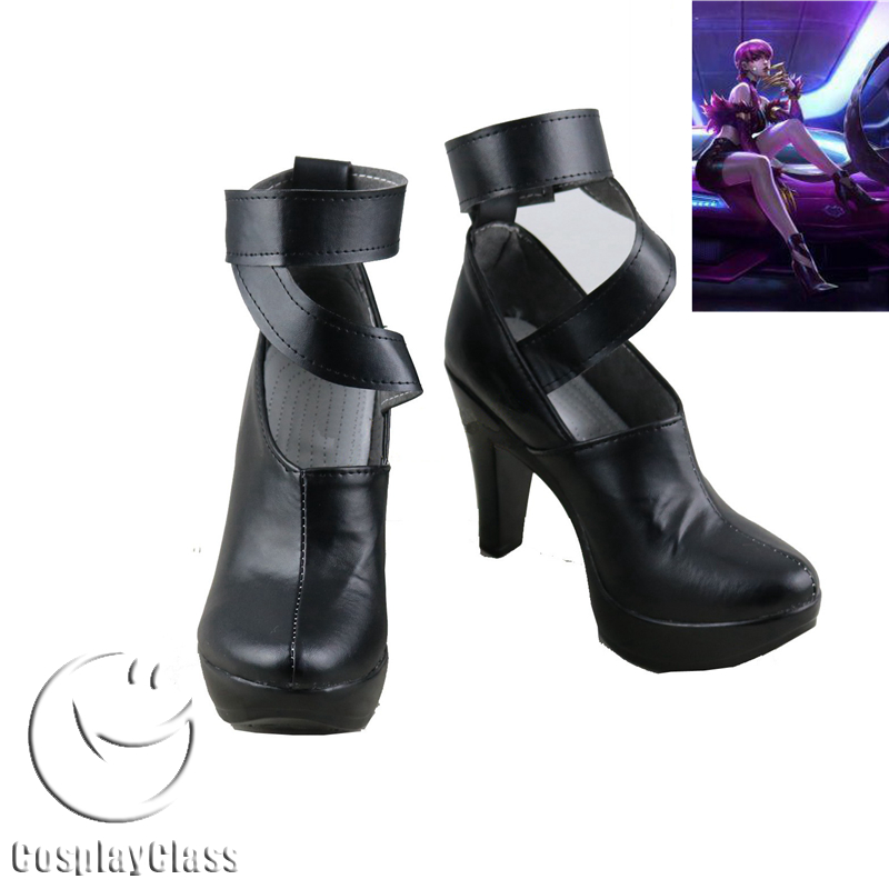 League of Legends LOL K/DA Evelynn Agony's Embrace KDA Cosplay Shoes
