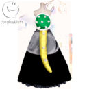 New Super Mario Bros U Deluxe Bowsette Cosplay Costume cos12246 (12)