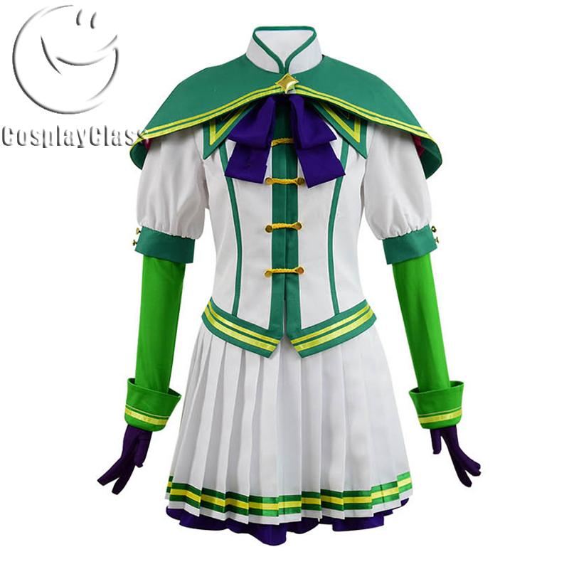 Uma Musume Pretty Derby Cosplay Costume Adult Women Girls School Uniform Dress