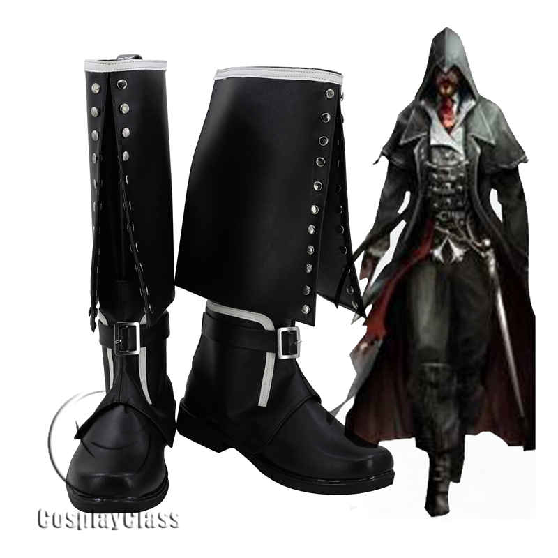 Assassin S Creed Syndicate Jacob Frye Cosplay Boots Cosplayclass