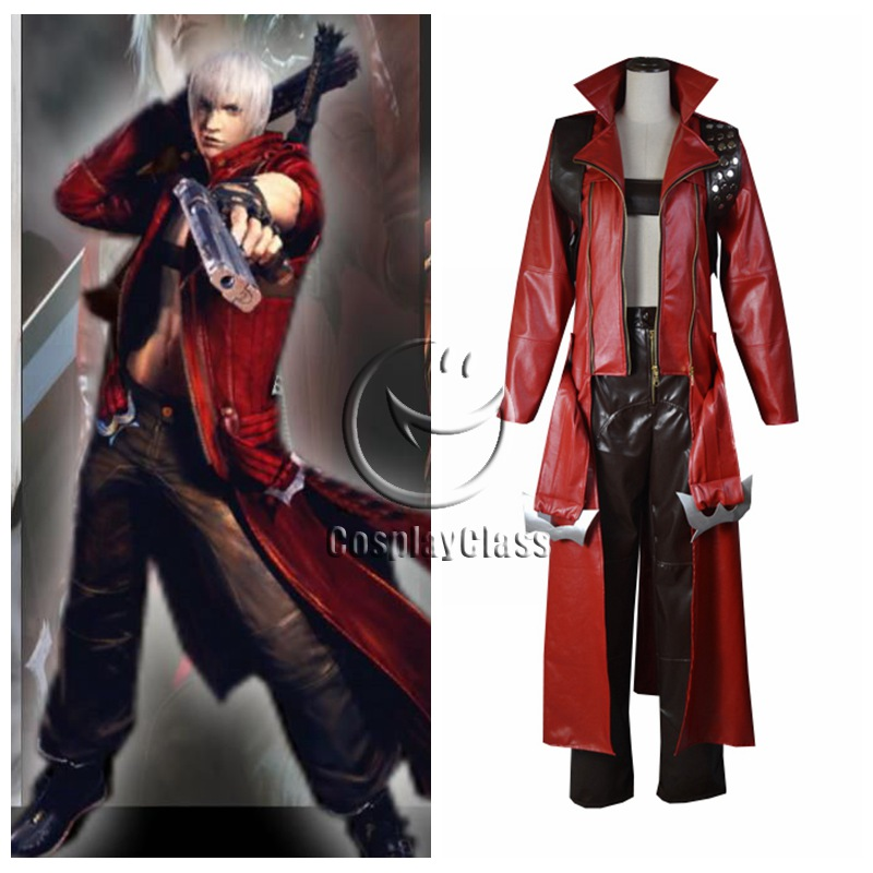 Devil May Cry 3 Dmc Dante Cosplay Costume