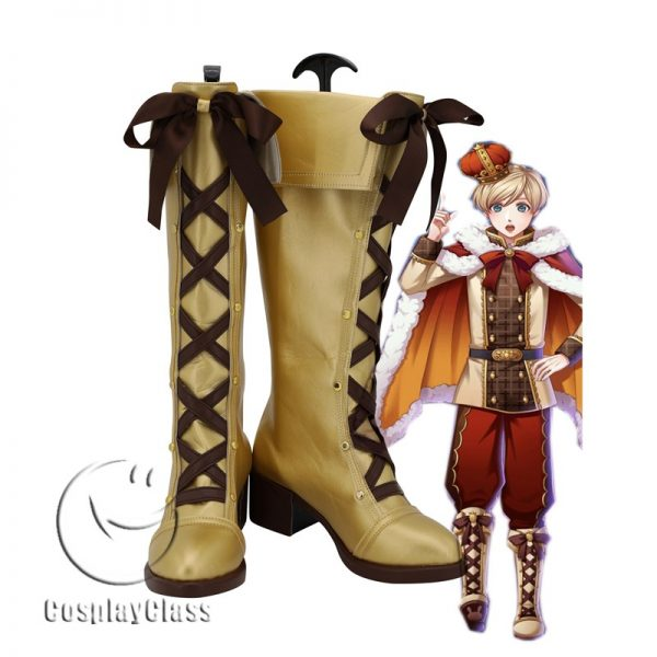 100 Sleeping Princes & the Kingdom of Dreams Alnabit Cosplay Boots
