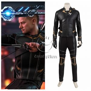 Avengers Endgame Hawkeye Barton Cosplay Costume