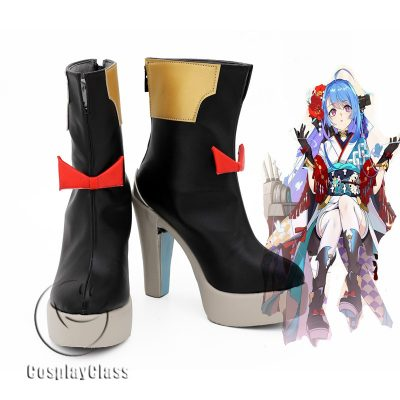 Azur Lane Helena Cosplay Shoes
