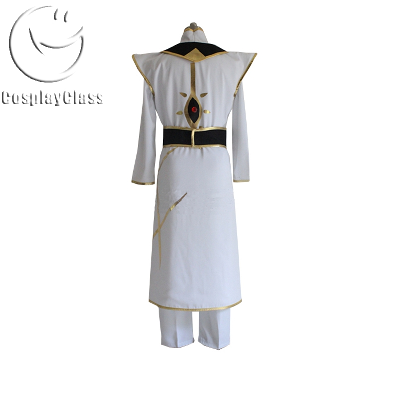 CODE GEASS Lelouch of the Rebellion R2 Suzaku Kururugi  Cosplay Costume