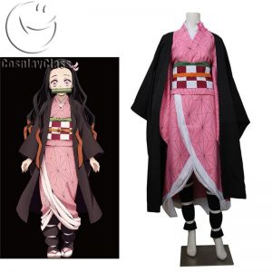 Demon Slayer Kamado Nezuko Cosplay Costume