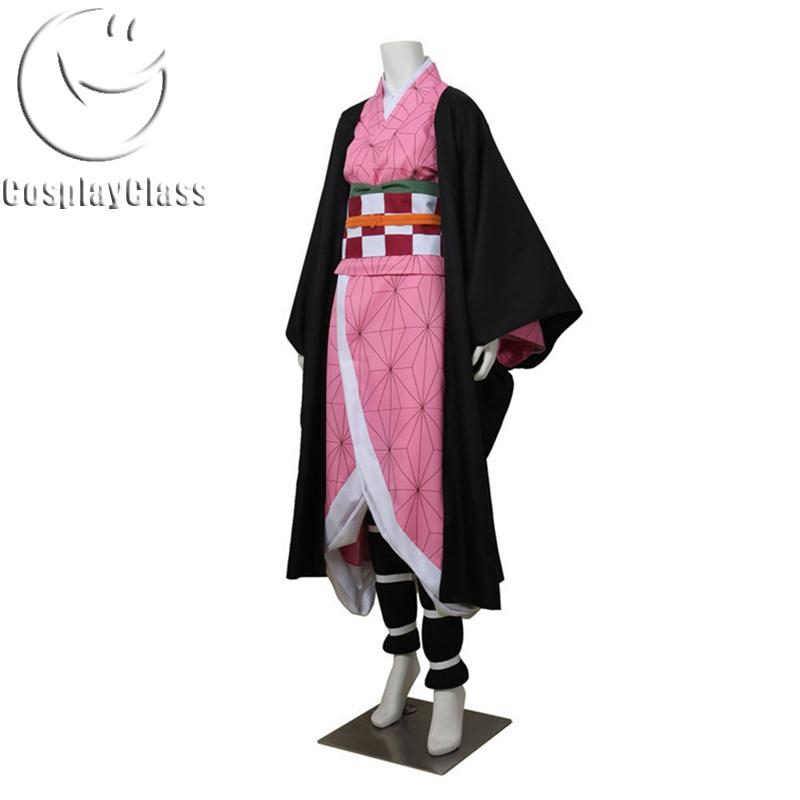 Demon Slayer Kamado Nezuko Cosplay Costume - CosplayClass