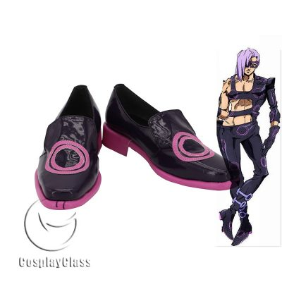 JoJo`s Bizarre Adventure Golden Wind Melone Cosplay Shoes