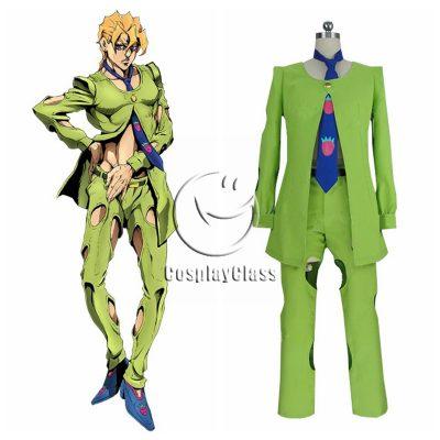 JoJo`s Bizarre Adventure: Golden Wind Pannacotta Fugo Cosplay Costume