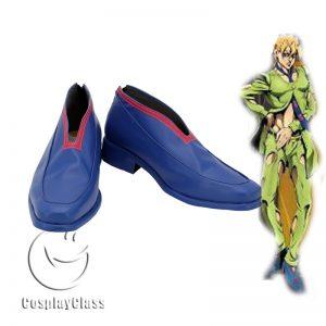 JoJo`s Bizarre Adventure Golden Wind Pannacotta Fugo Cosplay Shoes