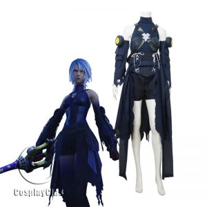Kingdom Hearts 3 Aqua Cosplay Costume