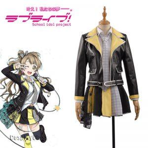LoveLive! μ's Kotori Minami Rock Cosplay Costume