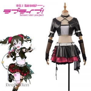 LoveLive! μ's Nico Yazawa Rock Cosplay Costume