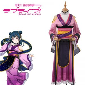 LoveLive! Double Seventh Festival Kanan Matsuura Awakening Cosplay Costume