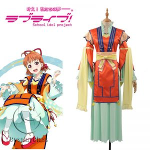 LoveLive! Double Seventh Festival Takami Chika Awakening Cosplay Costume
