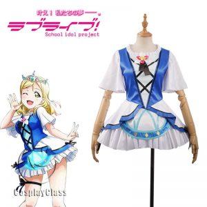 LoveLive! Mari Ohara Song Cosplay Costume