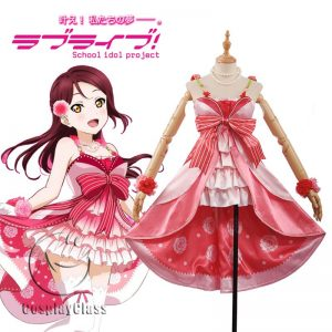 LoveLive! Sakurauchi Riko Dress Cosplay Costume