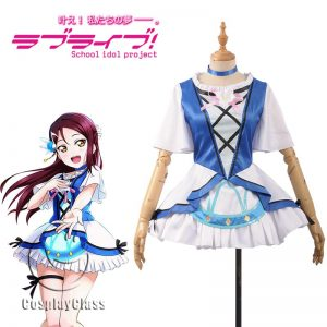LoveLive! Sakurauchi Riko Song Cosplay Costume