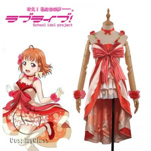 LoveLive! Takami Chika Dress Cosplay Costume