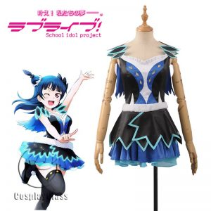 LoveLive! Tsushima Yoshiko Song Cosplay Costume
