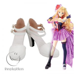 Macross Frontier Sheryl Nome Cosplay Shoes