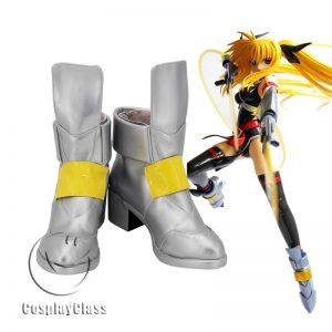 Magical Girl Lyrical Nanoha Takamachi Nanoha Cosplay Shoes