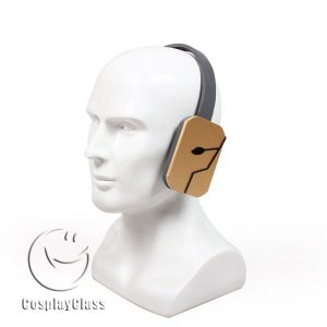 My Hero Academia Hawks Headset Cosplay Props