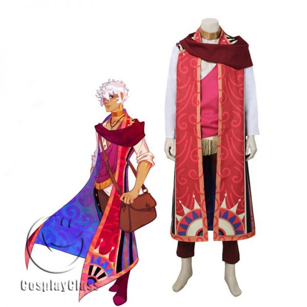 The Arcana: A Mystic Romance Asra Cosplay Costume