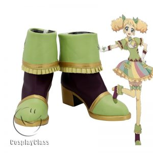 Aikatsu! Idol Katsudou! Saegusa Kii Cosplay Shoes