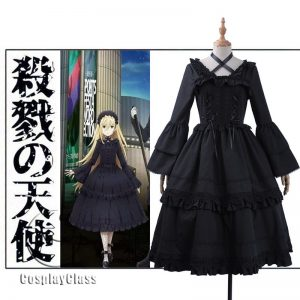 Angels of Death Rachel Gardner Lolita Cosplay Costume