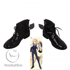Azur Lane Cleveland Black Cosplay Shoes