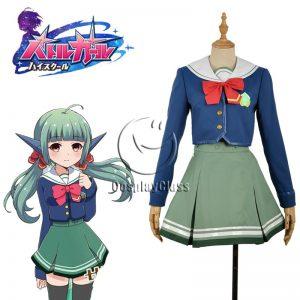 Battle Girl High School Sadone Cosplay Costume