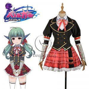 Battle Girl High School Sadone Uniform Cosplay Costume