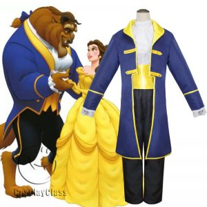Beauty and the Beast Anime Prince Cos Cosplay Costume