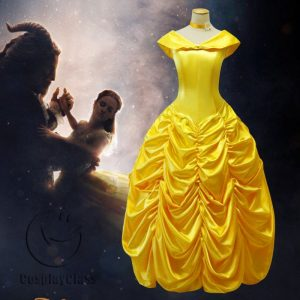 Beauty and the Beast Bella Anime Cos Cosplay Costume